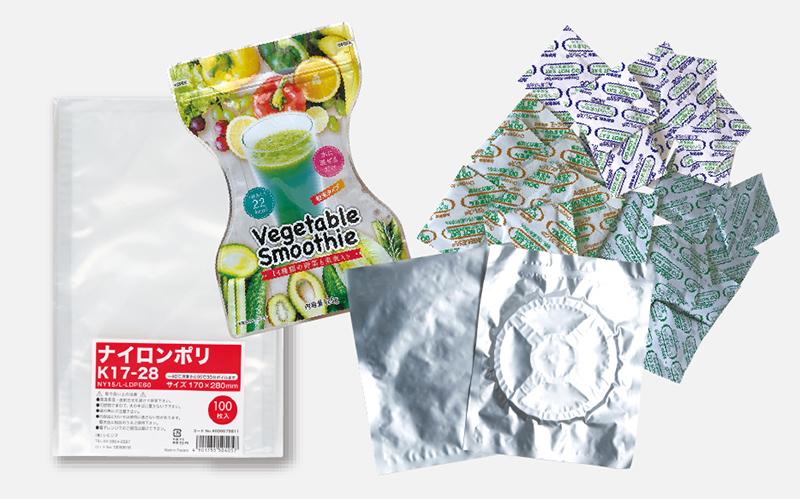 カテゴリ:ラミネート袋・乾燥材・脱酸素剤